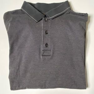 🌟Greg Norman Polo Grey Striped Large🌟